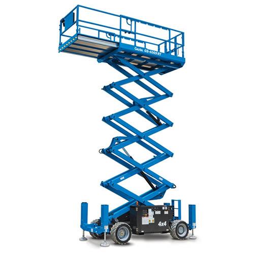 Élévation suivant un axe vertical, PEMP automotrice
